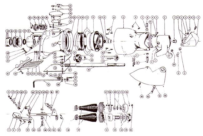 american turbine parts for berkeley 12 yj jet drive pump